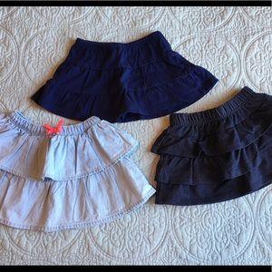 Bundle Baby Girl Skirts